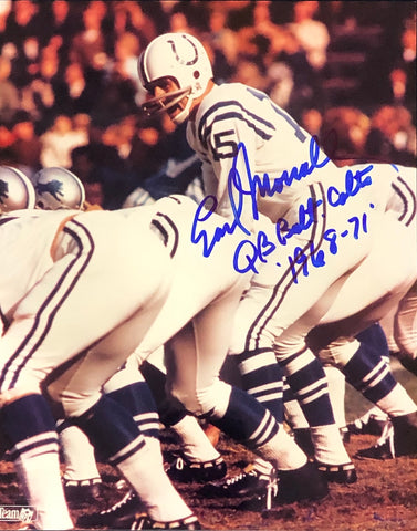 Earl Morrall Autographed 8x10 Photo