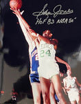 Sam Jones HOF 83 Autographed 8x10 Basketball Photo