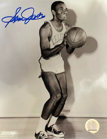 Sam Jones Autographed 8x10 Photo
