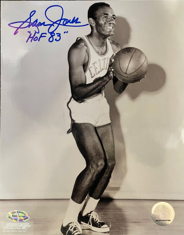 Sam Jones HOF Autographed 8x10 Photo