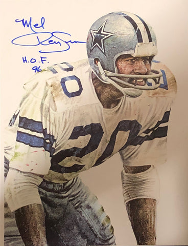 Mel Renfro Autographed 8x10 Photo