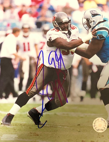 Warren Sapp Autographed 8x10 Photo
