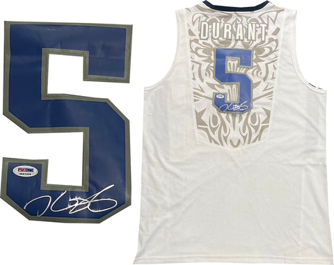 Kevin Durant Autographed USA Jersey (PSA)