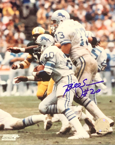 Billy Simms Autographed 8x10 Photo