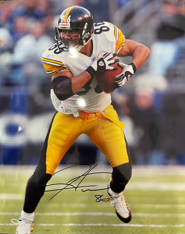 Hines Ward Autographed 16x20 Football Photo