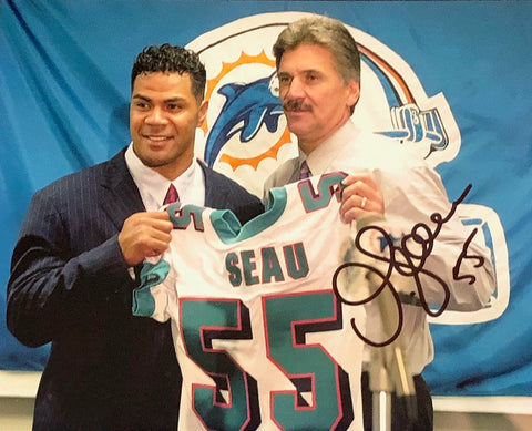 Junior Seau Autographed 8x10 Photo