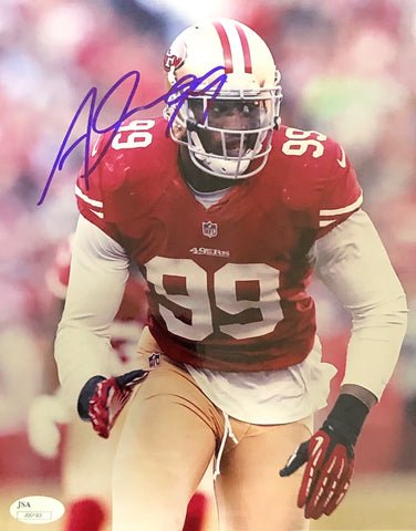 Aldon Smith Autographed 8x10 Photo