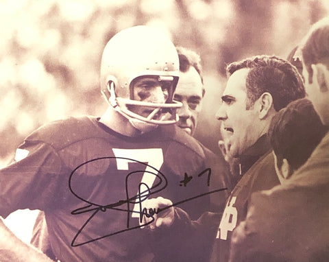 Joe Theismann Autographed 8x10 Photo