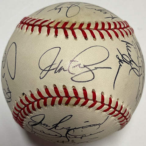 1996 Philadelphia Phillies Team Signed Baseball