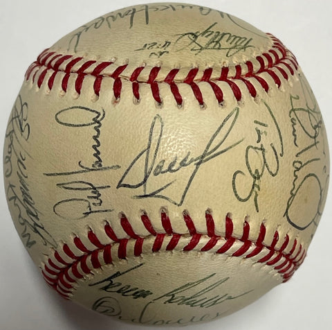 1996 New York Mets Team Signed Baseball