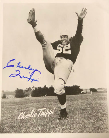 Charley Trippi Autographed 8x10 Photo