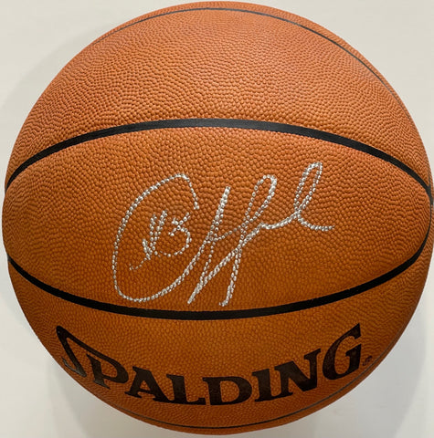 Chris Paul Autographed Spalding Leather Basketball