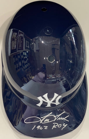 Tom Tresh Autographed New York Yankees Batting Helmet