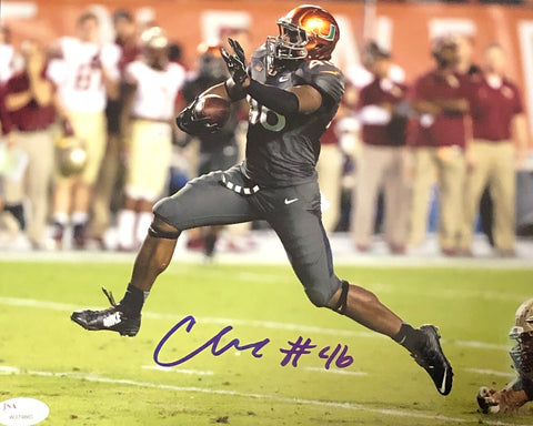 Clive Walford Autographed Vs. FSU 8x10 Photo