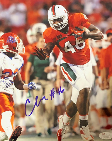 Clive Walford Autographed Vs. SSU 8x10 Photo