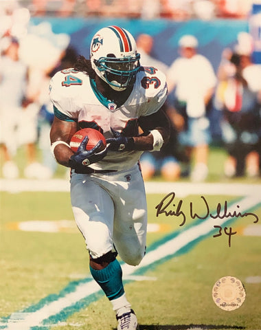 Ricky Williams Autographed 8x10 Photo