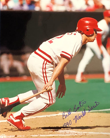 Billy Bates Autographed 8X10 Photo