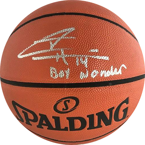 "Tyler Herro Autographed ""Boy Wonder"" Hybrid Indoor/Outdoor Basketball (JSA)"