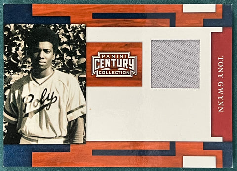 Tony Gwynn 2010 Panini Century Collection Game Used Jersey Card 190/250