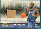 Gilbert Arenas 2010-11 Panini Studio Basketball Jersey Card #205/249