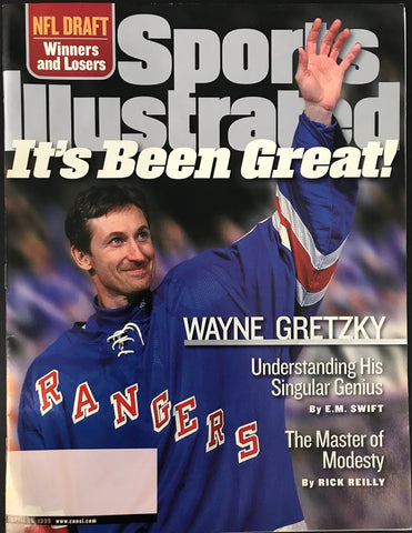 Wayne Gretzky Unsigned Sports Illustrated Tribute Issue April 26 1999