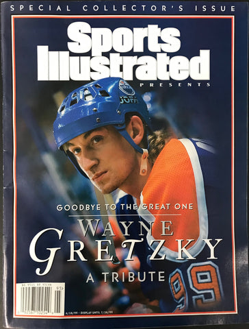 Wayne Gretzky Unsigned Sports Illustrated Collector's Issue April 28 1999