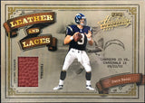 Drew Brees Unsigned 2003 Playoff Absolute Memorabilia Football Card