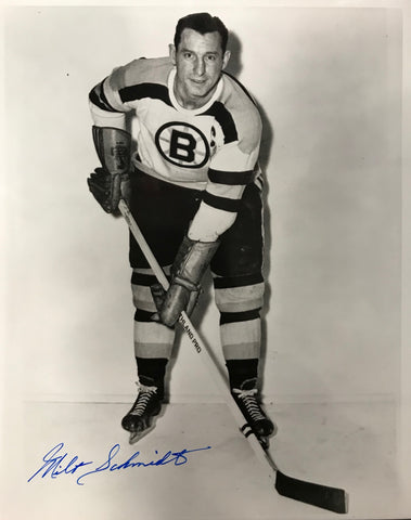 Milt Schmidt Signed 8x10 Photo Boston Bruins