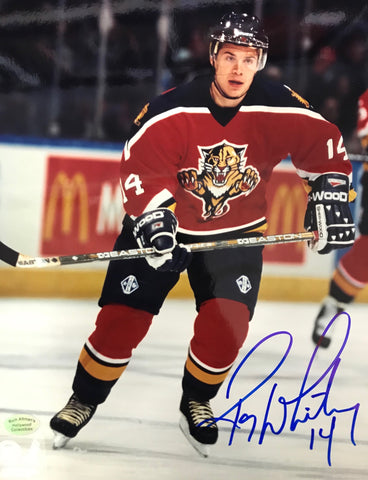 Ray Whitney Autographed 8x10 Photo Florida Panthers
