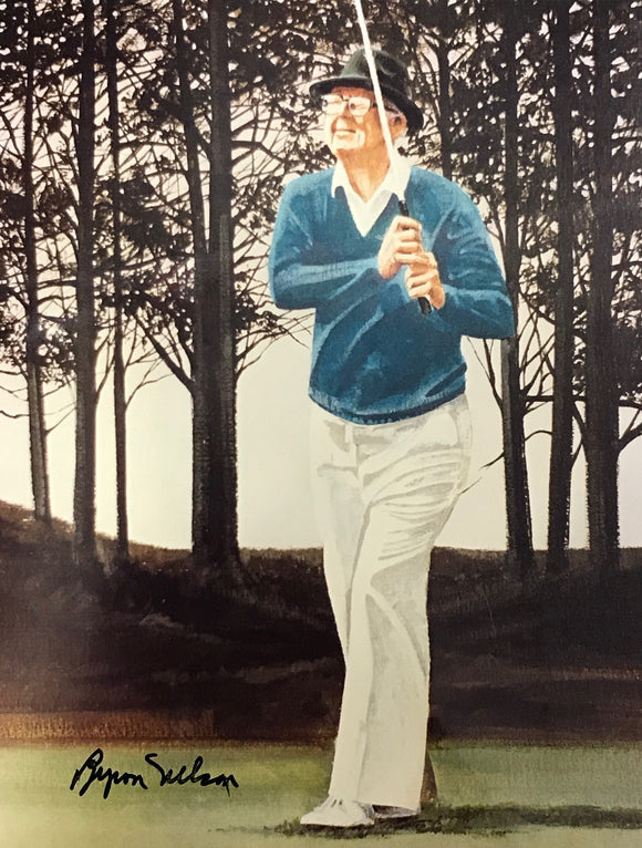 Byron Nelson Autographed Golf 8x10 Photo