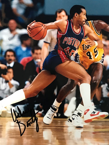 Adrian Dantley Autographed 8x10 Photo Utah Jazz