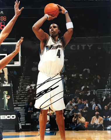 Antawn Jamison Autographed 8x10 Photo Washington Wizards
