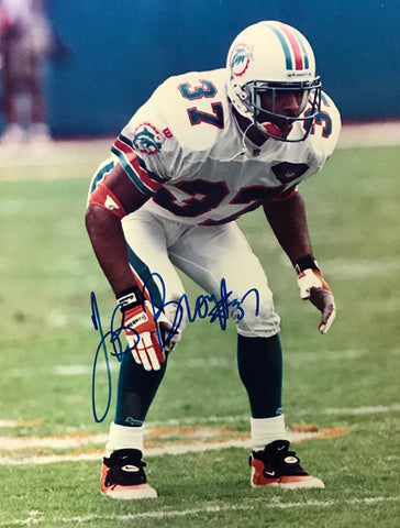 J.B. Brown Autographed 8x10 Photo Miami Dolphins