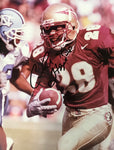 Chris Hope Autographed 8x10 Photo Florida State Seminoles