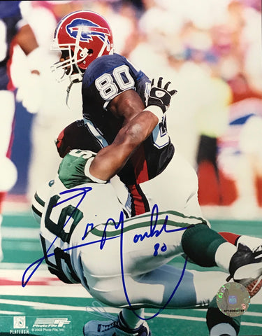 Eric Moulds Autographed 8x10 Photo Buffalo Bills