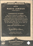 Mario Lemieux 2013-14 Upper Deck Sport Royalty Hockey Card