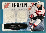 Patrik Elias 2013-14 Upper Deck Frozen Artifacts Jersey Card