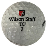 Don Meredith Autographed Wilson Staff TC 2 Golf Ball