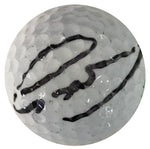Greg Norman Autographed Titleist 2 Golf Ball