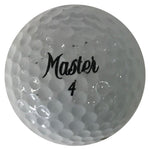 Jim Albus Autographed Master 4 Golf Ball