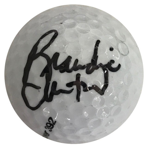 Brandie Burton Autographed Pinnacle 4 Golf Ball
