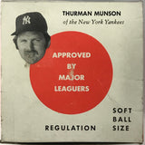Thurman Munson 1976 Wiffle Ball King Ball New York Yankees