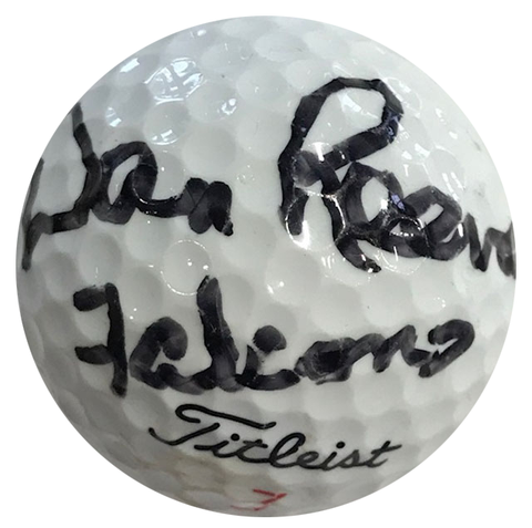 Dan Reeves Falcons Autographed Titleist 3 Golf Ball