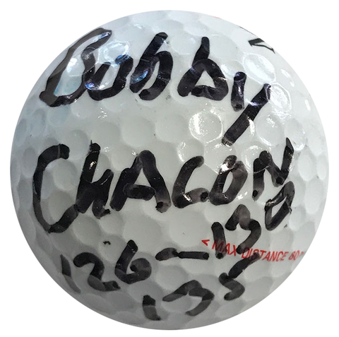 Bobby Chacon Autographed MaxFli 4 MD Golf Ball