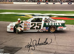 Ken Schrader Autographed 8x10 Racing Photo