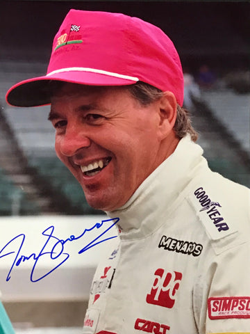 Tom Sneva Autographed 8x10 Racing Photo