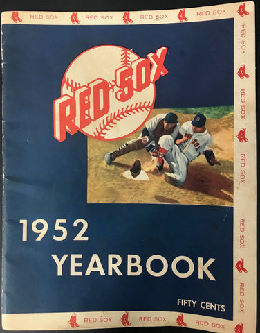 Boston Red Sox 1952 MLB Baseball Yearbook