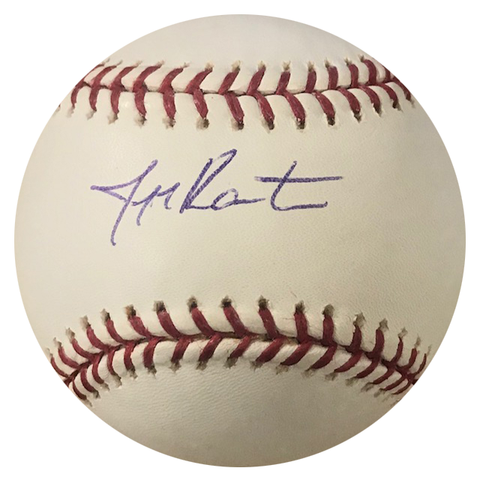 Jeff Karstens Autographed Official Major League Baseball (Steiner)