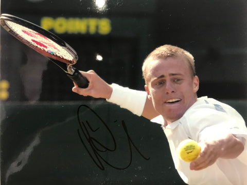 Lleyton Hewitt Autographed 8x10 Tennis Photo