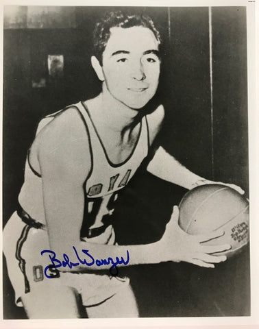Bobby Wanzer Autographed 8x10 Basketball Photo Rochester Royals